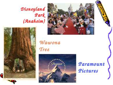 Disneyland Park (Anaheim) Wawona Tree Paramount Pictures