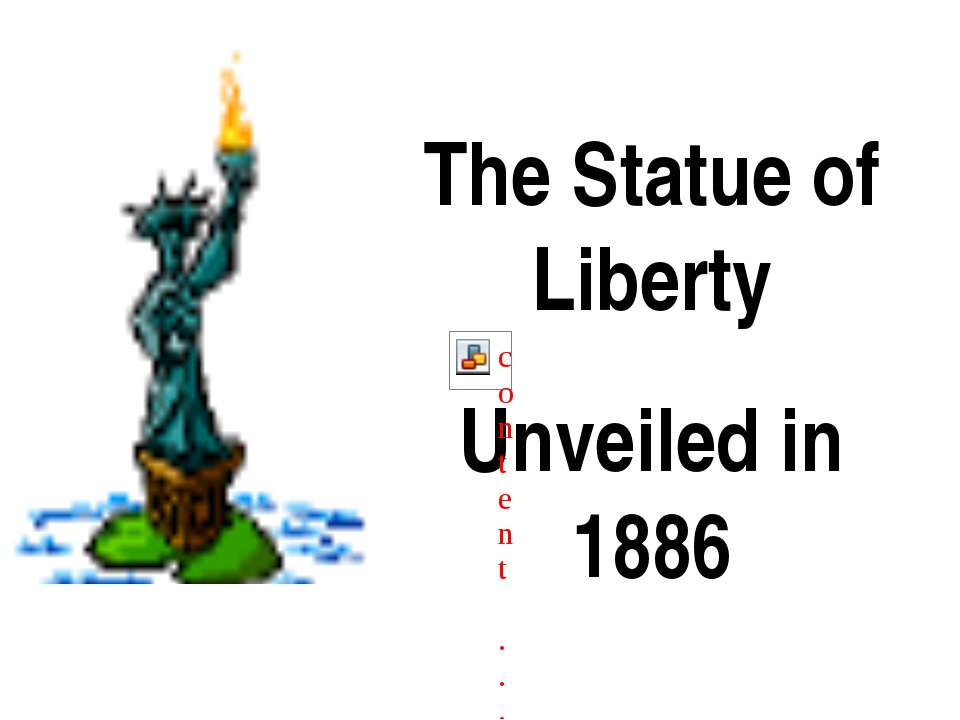 The Statue of Liberty Unveiled in 1886