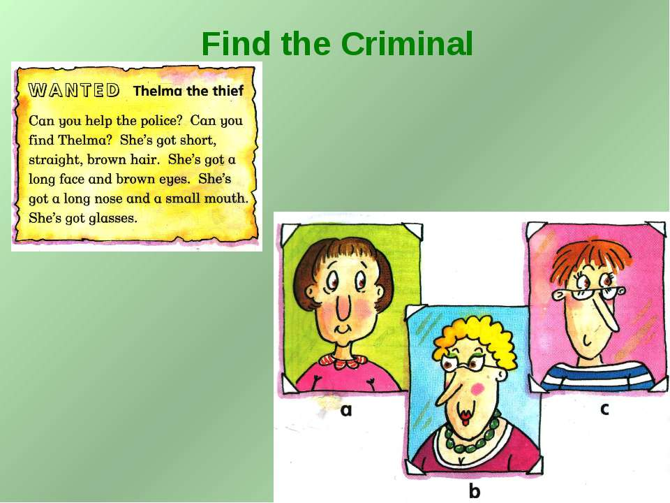 Find the Criminal