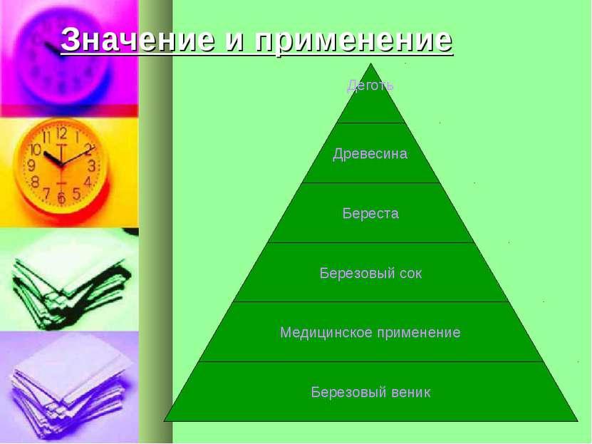 Значение и применение
