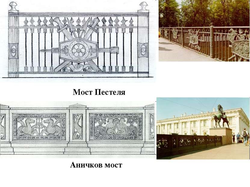 Мост Пестеля Аничков мост