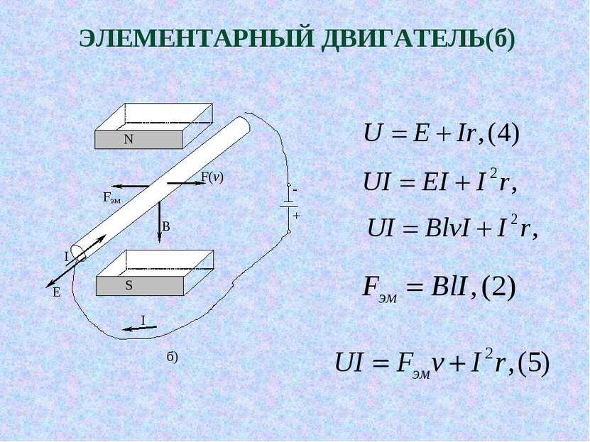 ЭЛЕМЕНТАРНЫЙ ДВИГАТЕЛЬ(б)