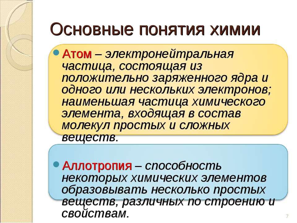 Атом – электронейтральная частица, состоящая из положительно заряженного ядра...