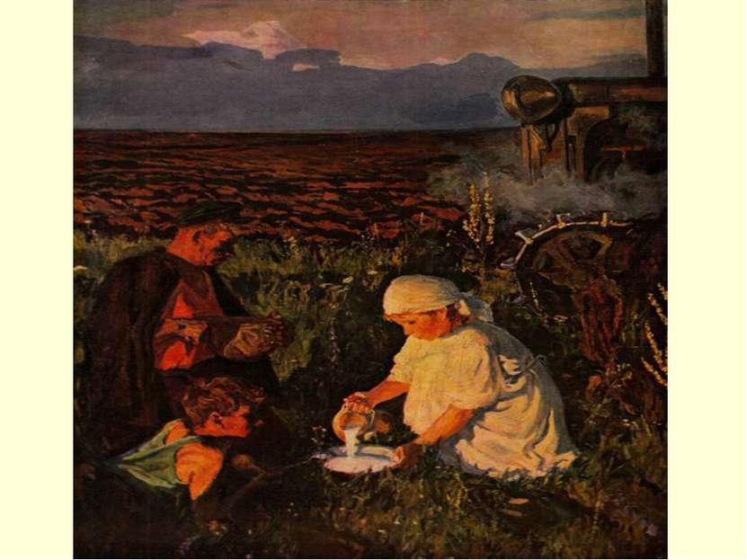 Тема семьи в живописи