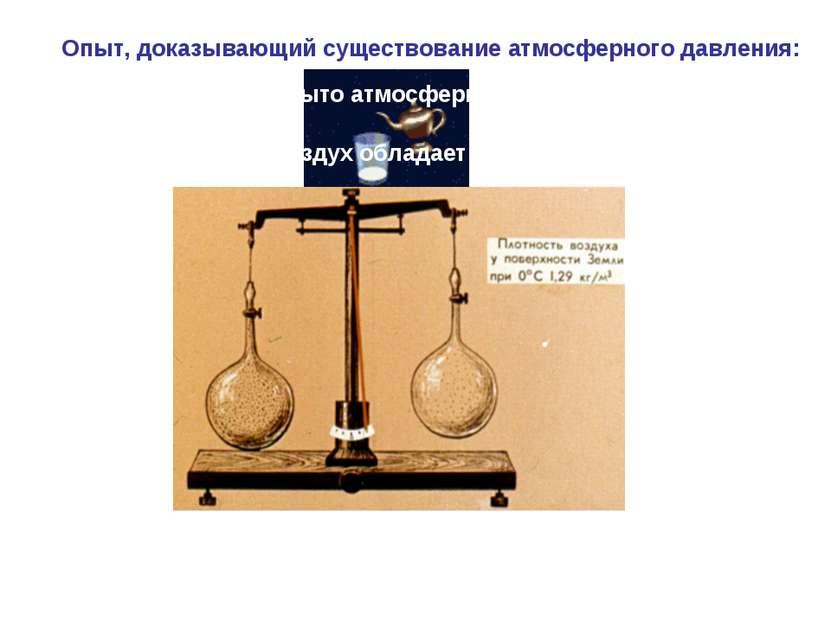 Опыт, доказывающий существование атмосферного давления: Как было открыто атмо...