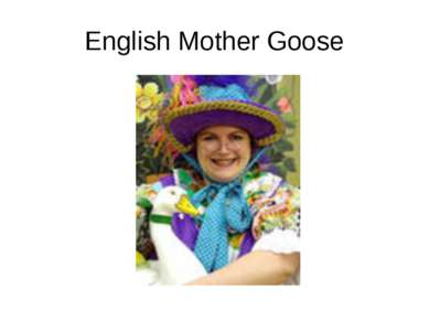 English Mother Goose