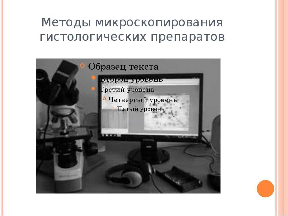 Методы микроскопирования гистологических препаратов