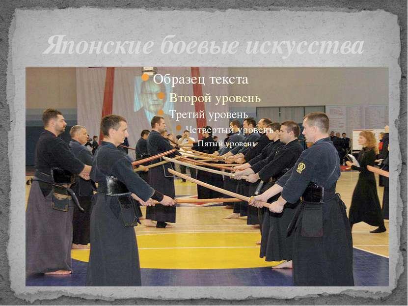 Японские боевые искусства