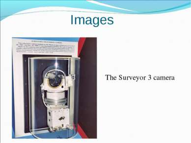 The Surveyor 3 camera Images