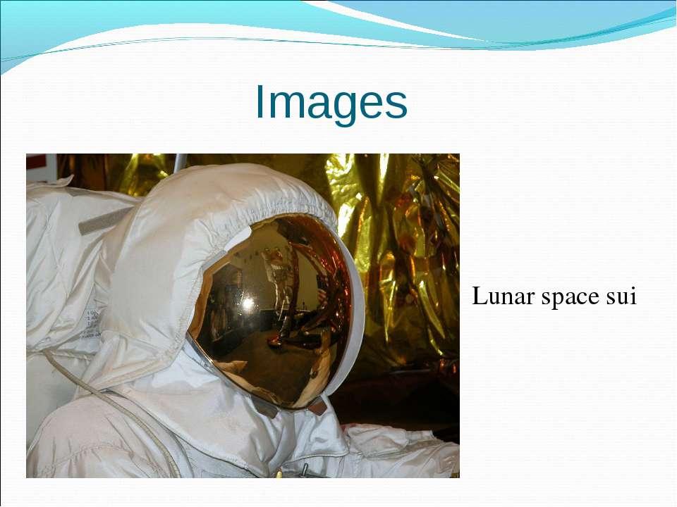 Lunar space sui Images