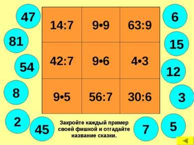 14:7 9•9 63:9 42:7 9•6 4•3 9•5 56:7 30:6 6 7 12 5 45 8 54 81 2 3 47 15 Закрой...