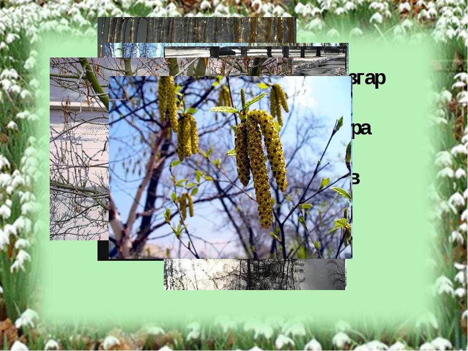 На Дальнем Востоке Апрель – разгар весны. Время ледохода, таяния снега, пора ...