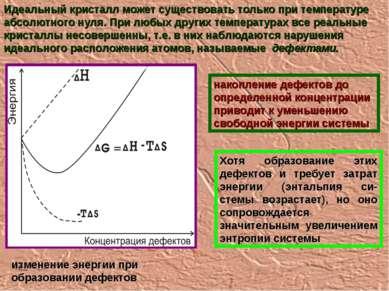 Идеальный кристалл может существовать только при температуре абсолютного нуля...