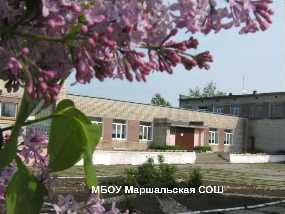 МБОУ Маршальская СОШ
