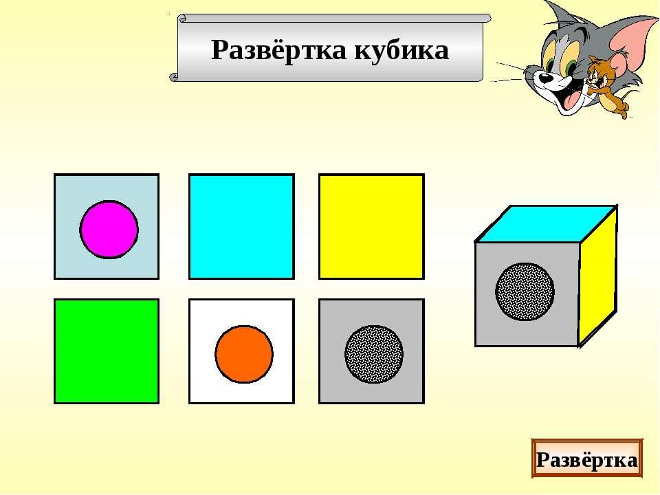 Развёртка кубика Развёртка