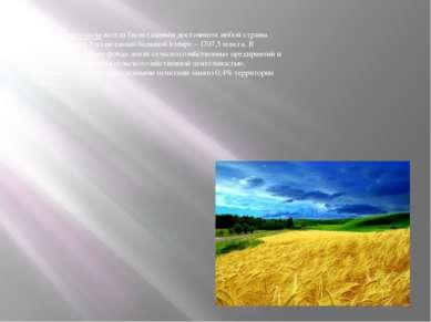 Земельные ресурсы всегда были главным достоянием любой страны. Земельный фонд...