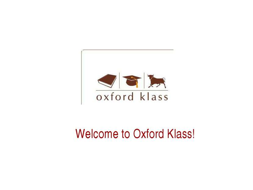 Welcome to Oxford Klass!