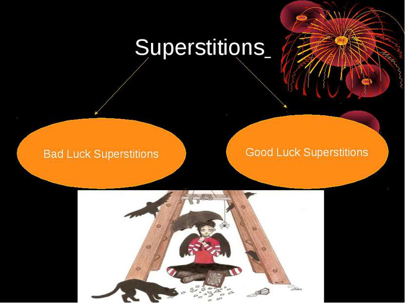 Superstitions Bad Luck Superstitions Good Luck Superstitions