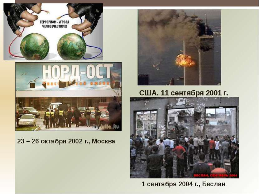 Количество жертв террористических актов в Российской Федерации