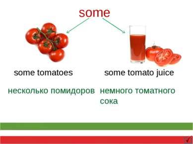some some tomatoes some tomato juice несколько помидоров немного томатного сока