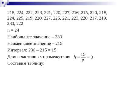 218, 224, 222, 223, 221, 220, 227, 216, 215, 220, 218, 224, 225, 219, 220, 22...