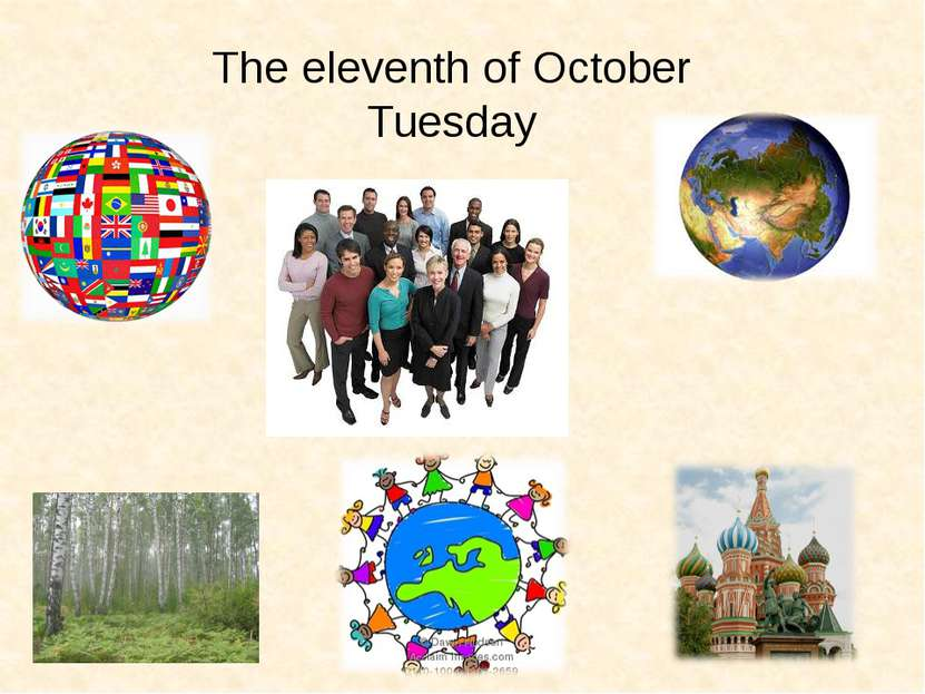 The eleventh of October Tuesday