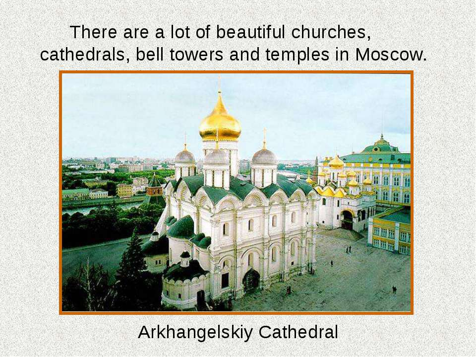 There are a lot of beautiful churches, cathedrals, bell towers and temples in...