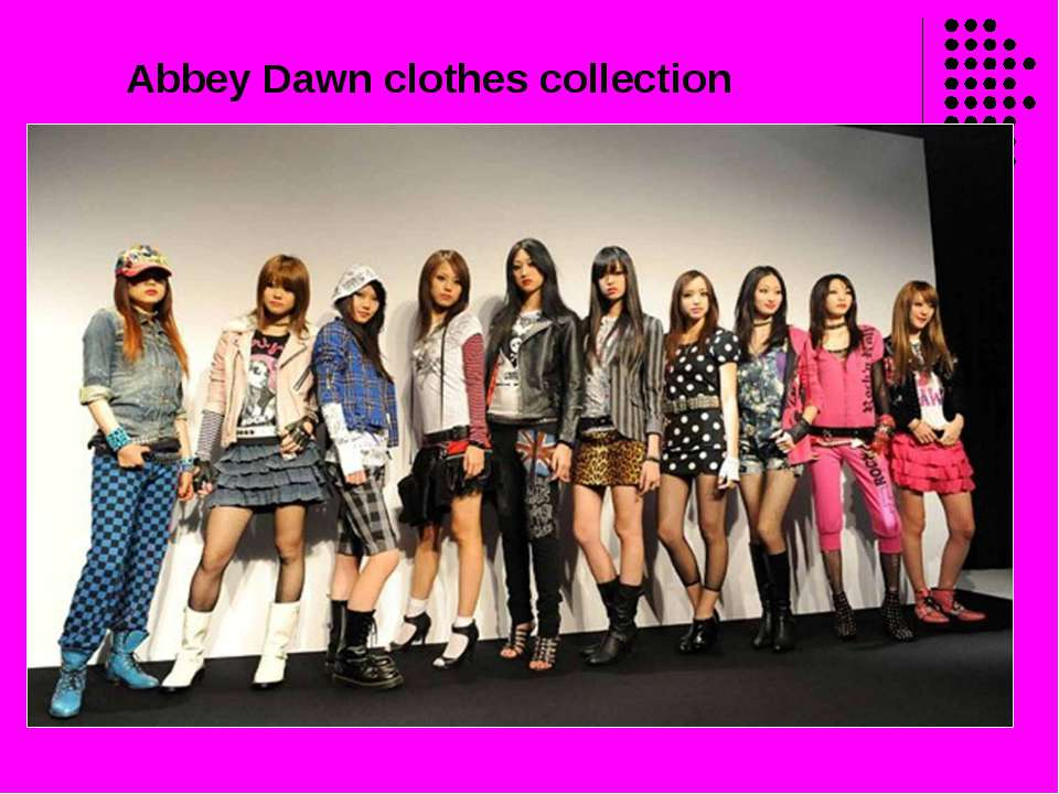 Abbey Dawn clothes collection