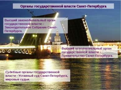 Высший законодательный орган государственной власти - Законодательное Собрани...