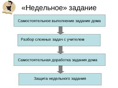 «Недельное» задание