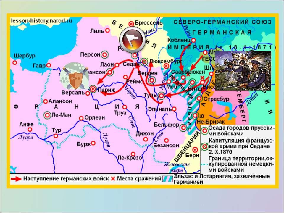 Основные события франко-прусской войны 19vii1870 - 10v1871 гг