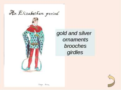 gold and silver ornaments brooches girdles