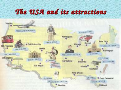 The USA and its attractions