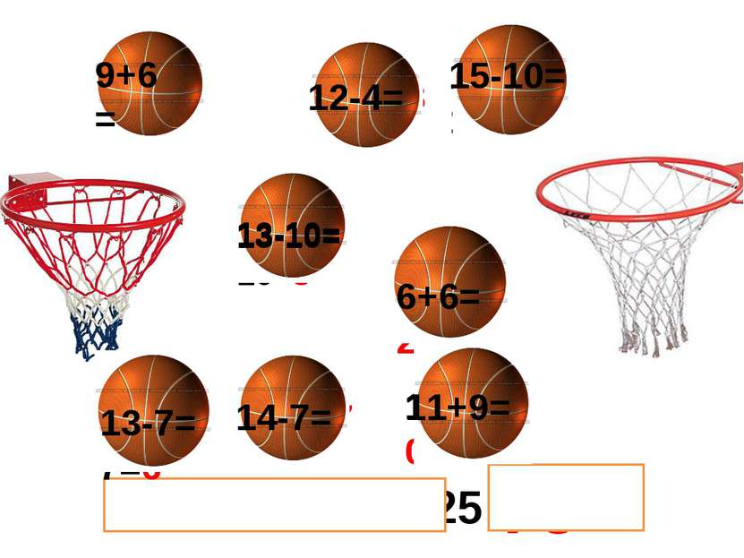 20 + 20 + 10 + 25 = 6+6=12 12-4=8 12-4= 14-7=7 13-10=3 14-7= 75 9+6=14 9+6= 1...