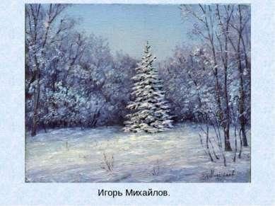 Игорь Михайлов.