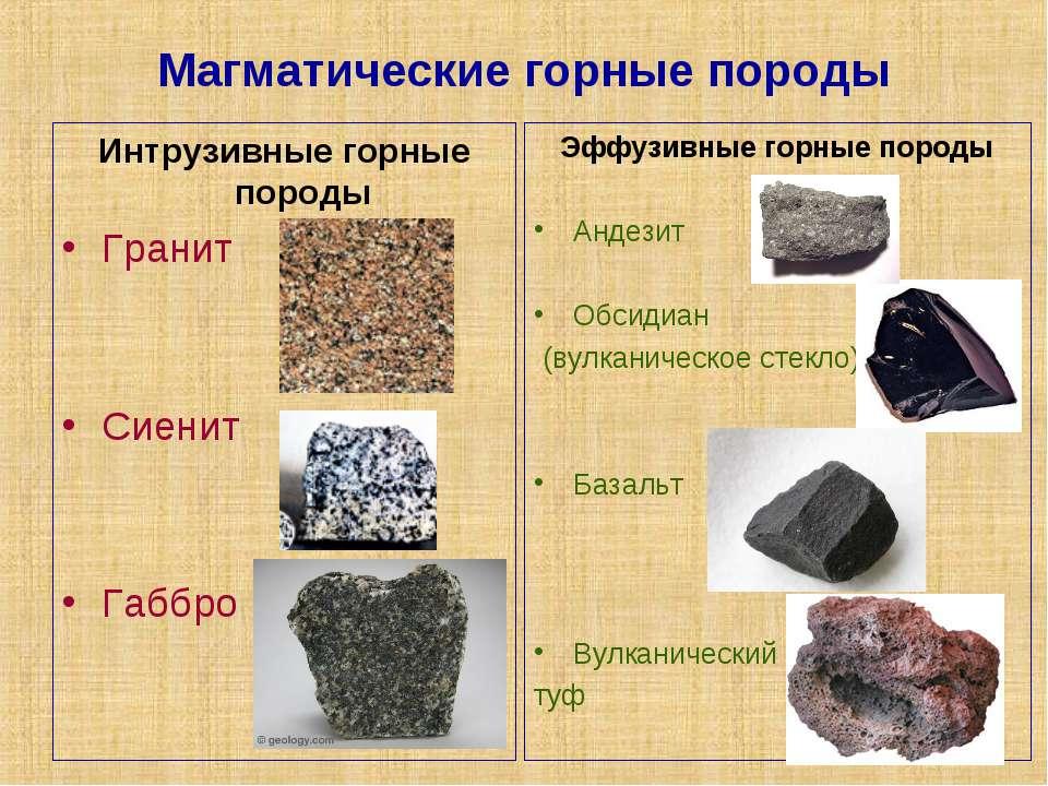 структура и текстура горных пород: