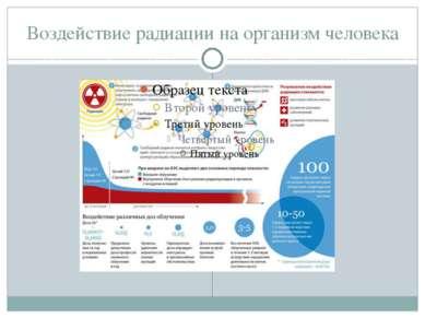 Воздействие радиации на организм человека