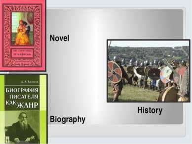 Novel Biography History