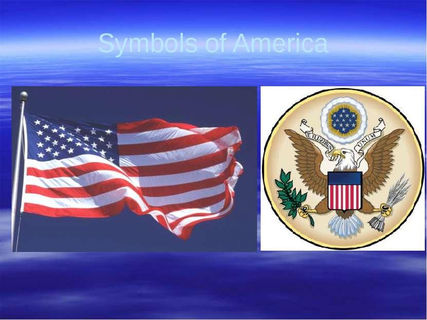 Gorina E.N. Liceum No2 Symbols of America