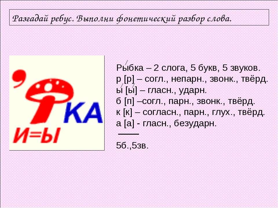 Слова связанные с фонетикой