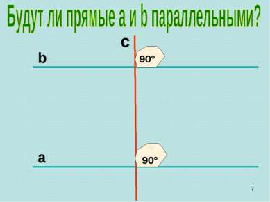 b c a 90° 90° *