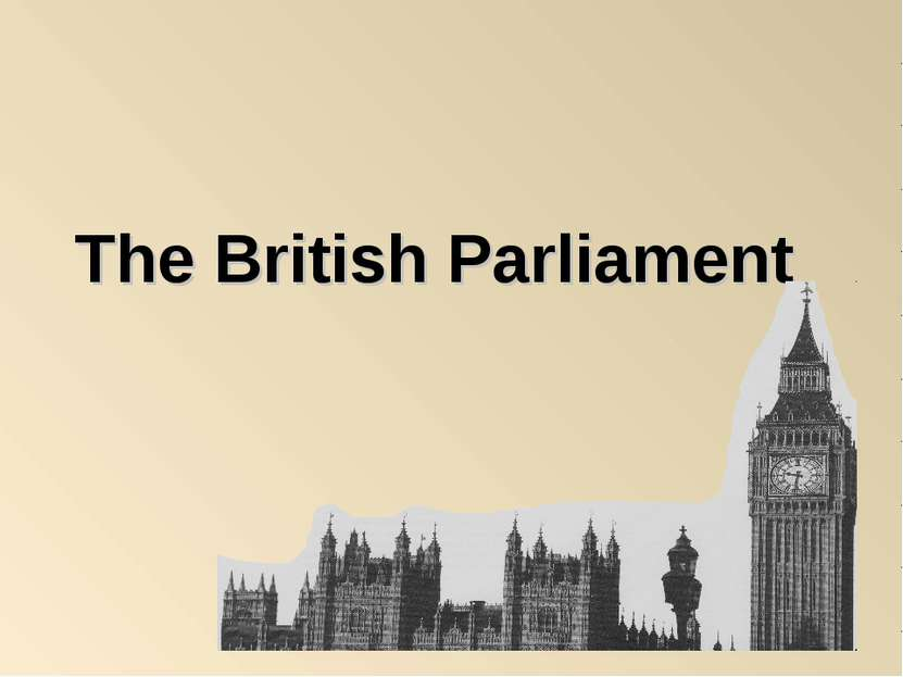 The British Parliament