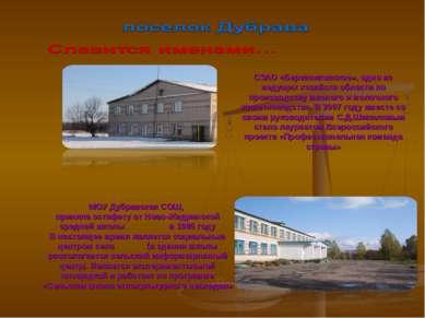 СЗАО «Березниковское», одно из ведущих хозяйств области по производству мясно...