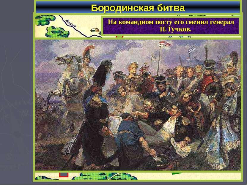 Бородинская битва Барклай де Толли Багратион Уваров Платов В ходе сражения бы...