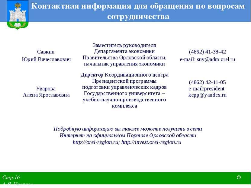 Контактная информация для обращения по вопросам сотрудничества Подробную инфо...