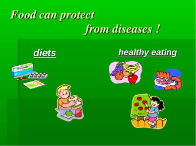 Food can protect from diseases ! diets healthy eating