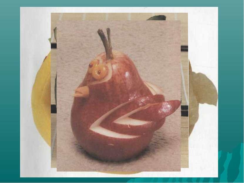 Украшение фруктов