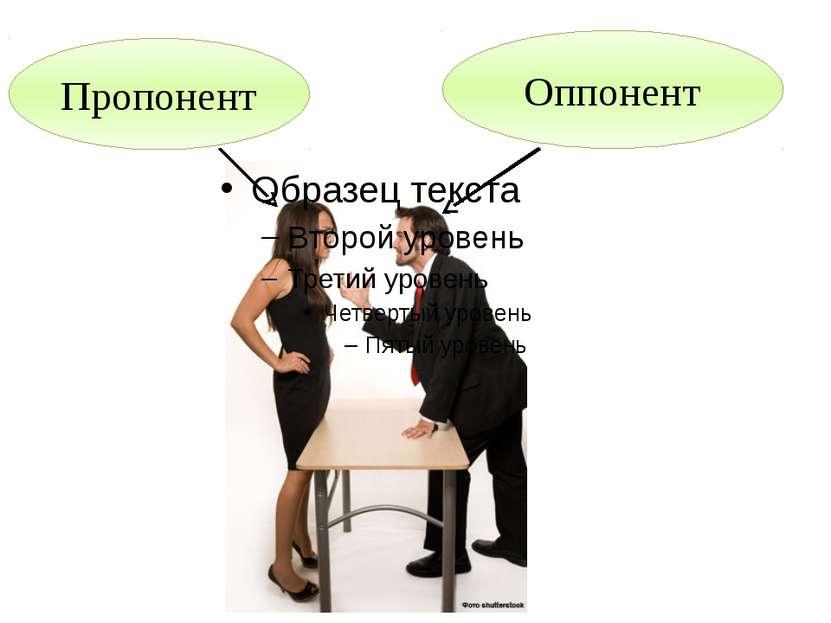 Оппонент Пропонент
