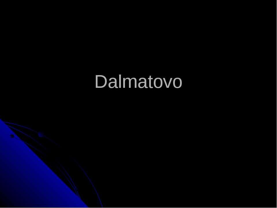 Dalmatovo