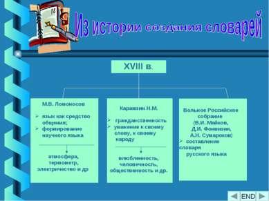 М.В. Ломоносов язык как средство общения; формирование научного языка атмосфе...